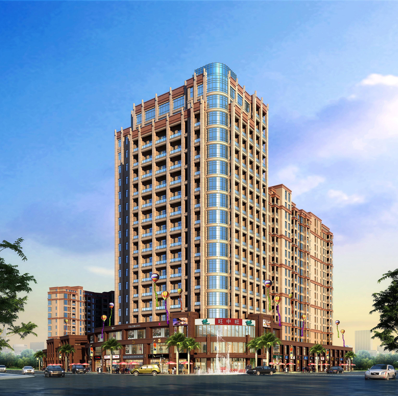 0%,由2栋纯板式小高层,1栋高层住宅及1栋loft公寓错落排布组成,纯板式